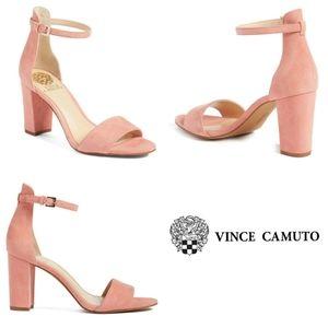 Vince Camuto Blush Corlina Ankle Strap Sandal 6